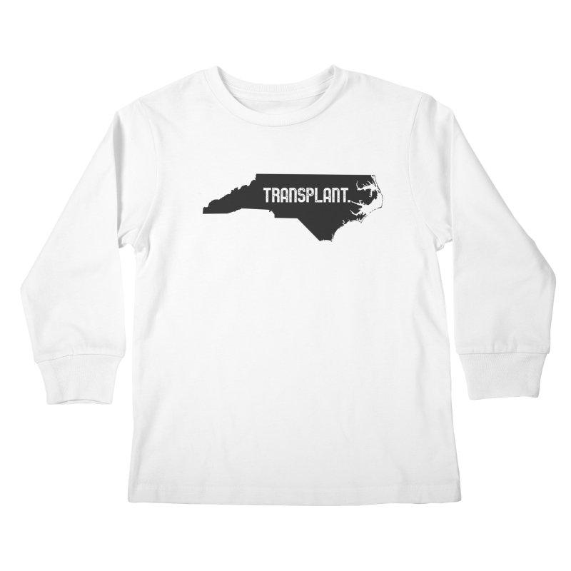 NC Transplant Kids Longsleeve T-Shirt by Pittie Chicks