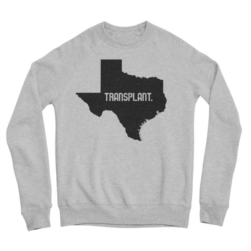 TX Transplant Women's Sponge Fleece Sweatshirt by Pittie Chicks