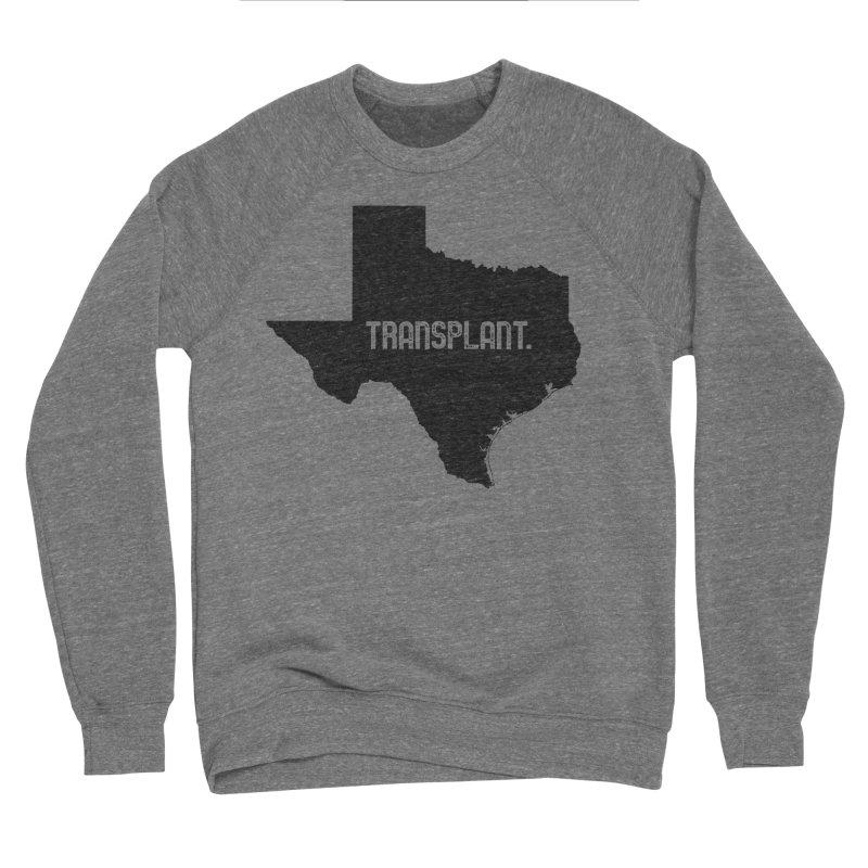 TX Transplant Men's Sponge Fleece Sweatshirt by Pittie Chicks