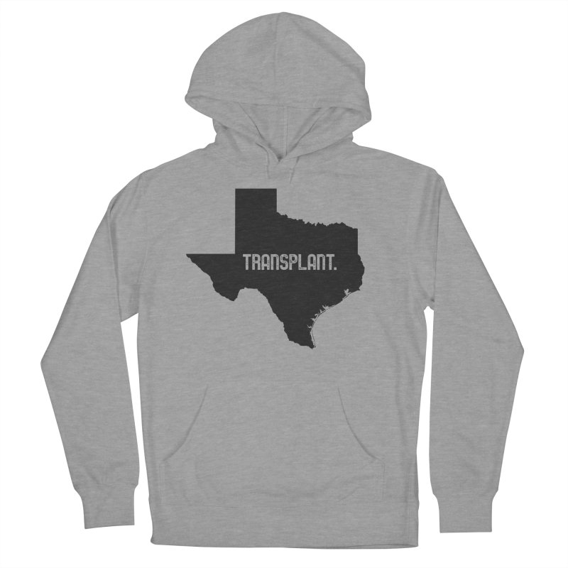 TX Transplant Men's French Terry Pullover Hoody by Pittie Chicks