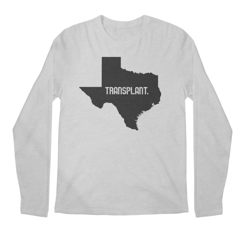 TX Transplant Men's Regular Longsleeve T-Shirt by Pittie Chicks
