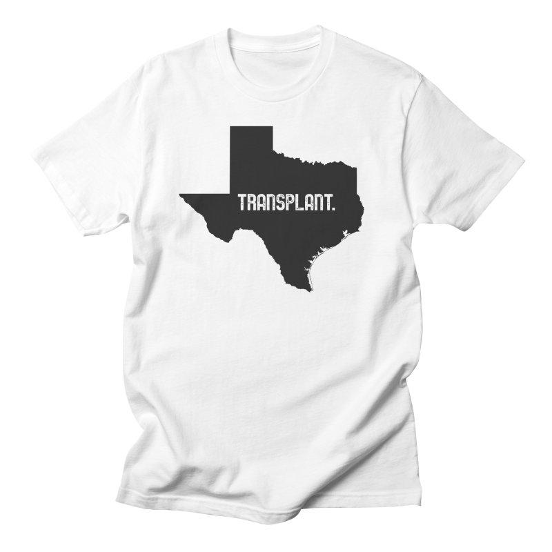 TX Transplant Men's Regular T-Shirt by Pittie Chicks
