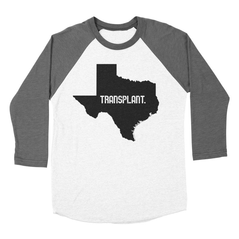 TX Transplant Women's Baseball Triblend Longsleeve T-Shirt by Pittie Chicks