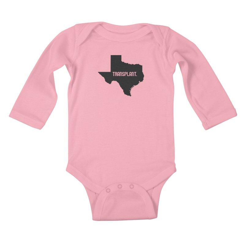 TX Transplant Kids Baby Longsleeve Bodysuit by Pittie Chicks