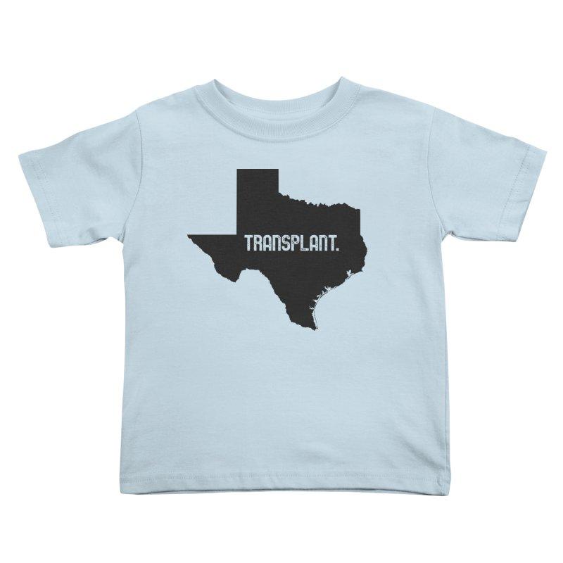 TX Transplant Kids Toddler T-Shirt by Pittie Chicks