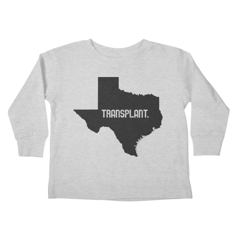 TX Transplant Kids Toddler Longsleeve T-Shirt by Pittie Chicks