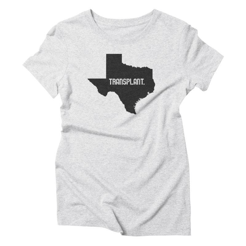 TX Transplant Women's Triblend T-Shirt by Pittie Chicks
