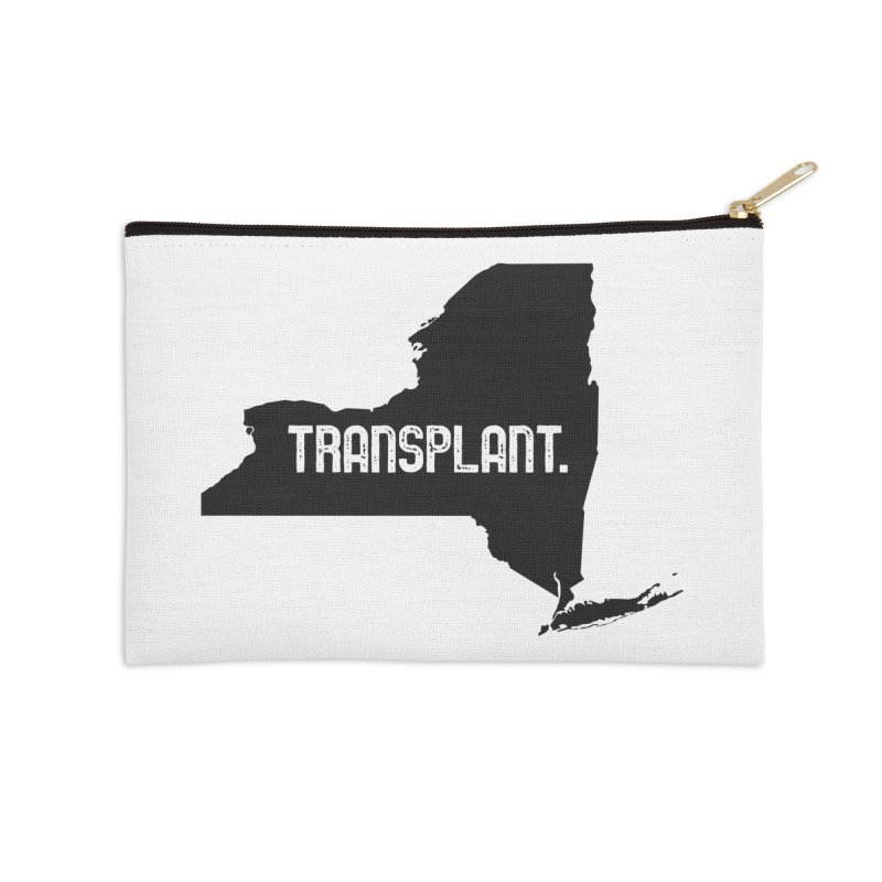 NY Transplant Accessories Zip Pouch by Pittie Chicks