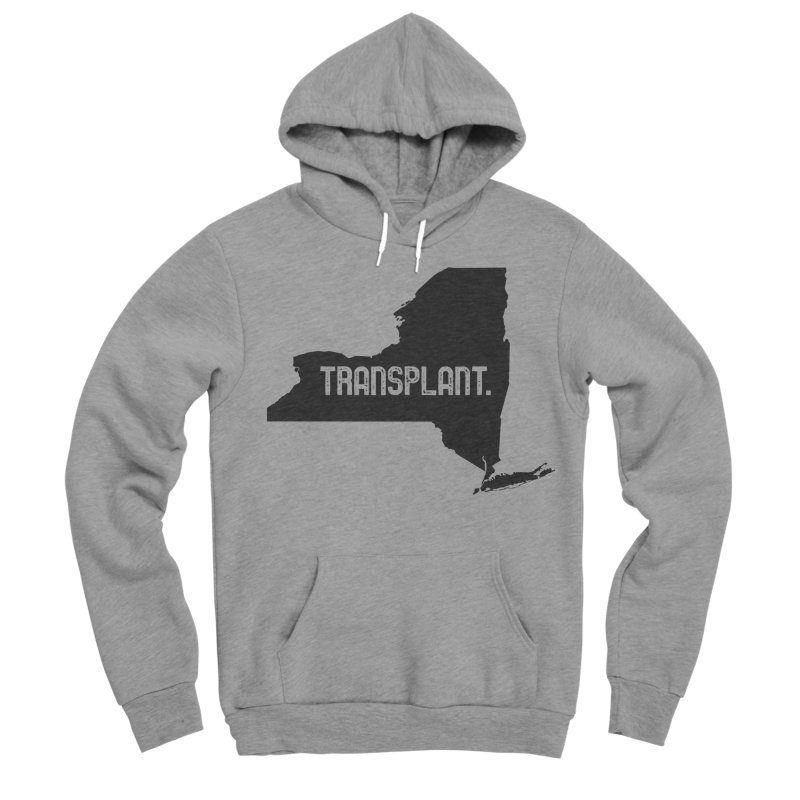 NY Transplant Men's Sponge Fleece Pullover Hoody by Pittie Chicks
