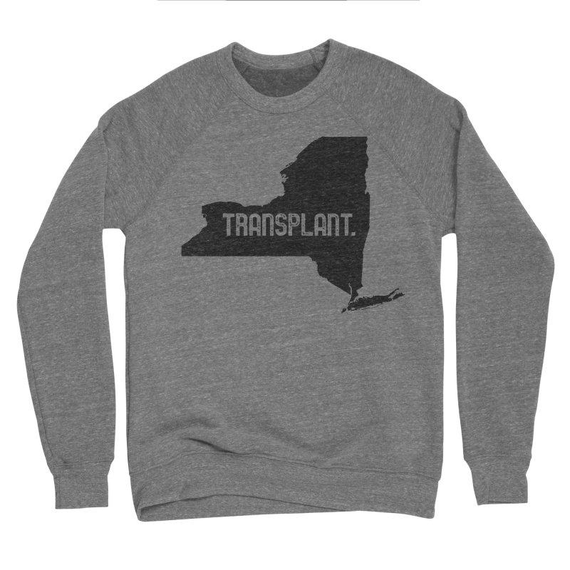 NY Transplant Men's Sponge Fleece Sweatshirt by Pittie Chicks