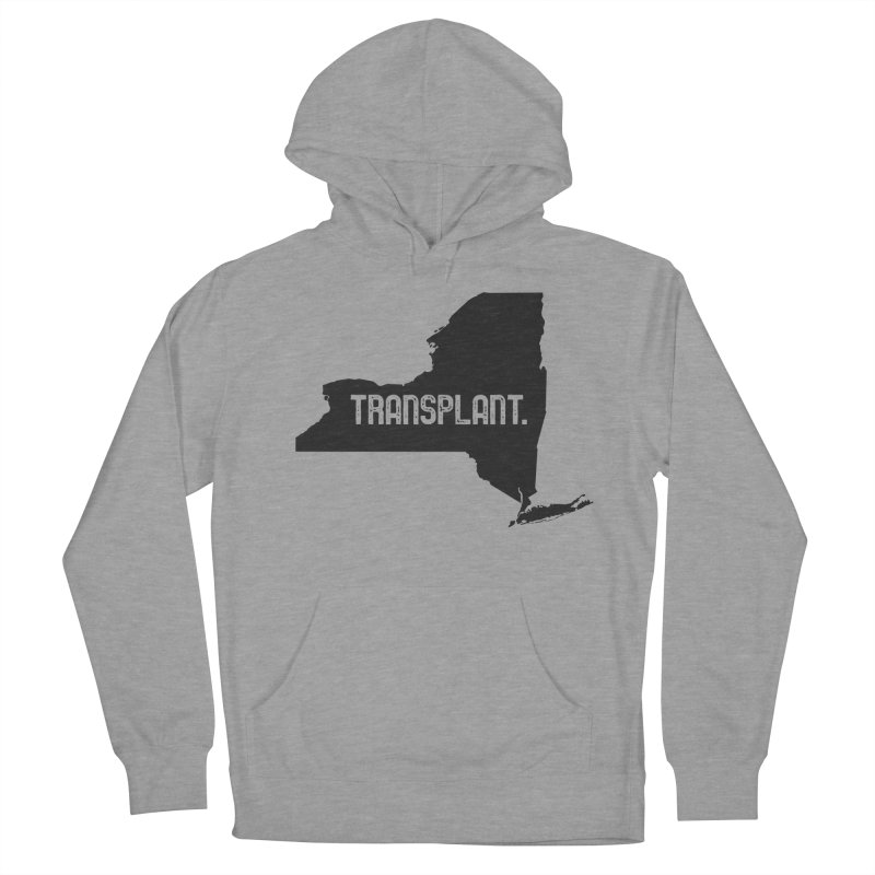 NY Transplant Men's French Terry Pullover Hoody by Pittie Chicks