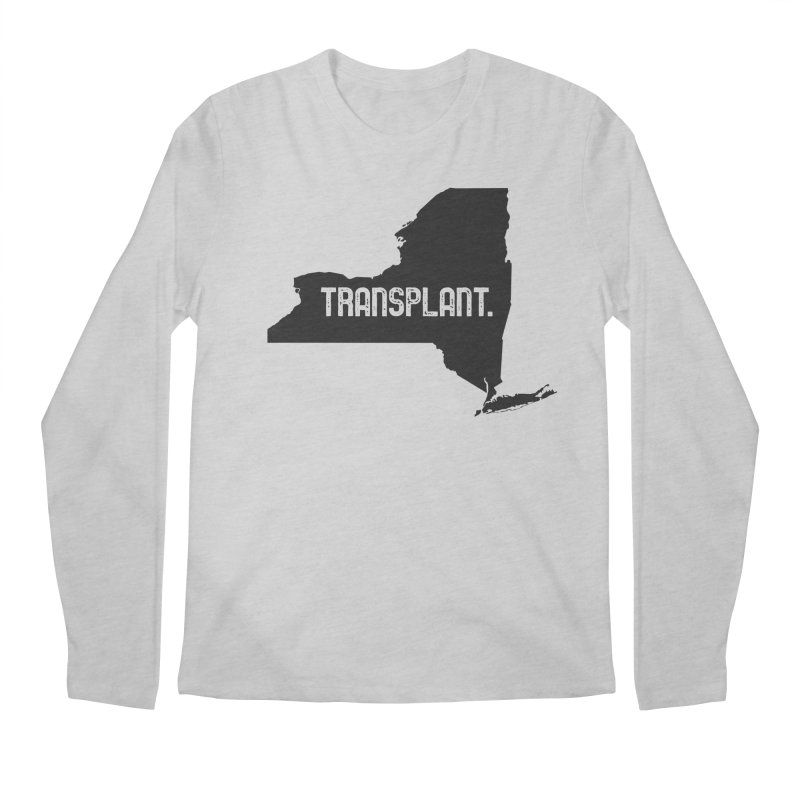 NY Transplant Men's Regular Longsleeve T-Shirt by Pittie Chicks