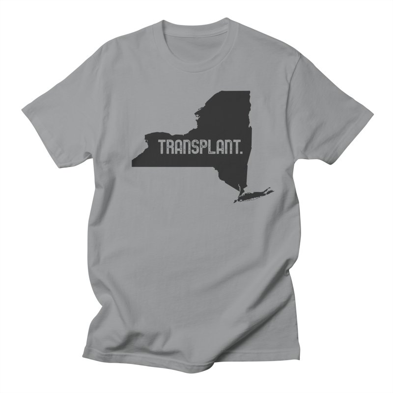 NY Transplant Men's Regular T-Shirt by Pittie Chicks