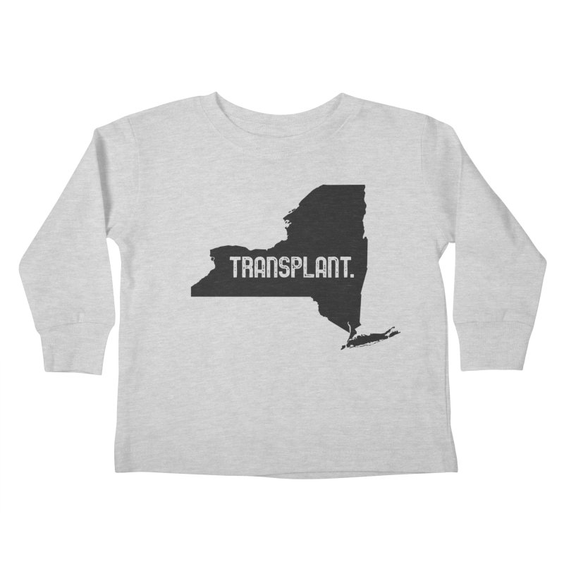 NY Transplant Kids Toddler Longsleeve T-Shirt by Pittie Chicks