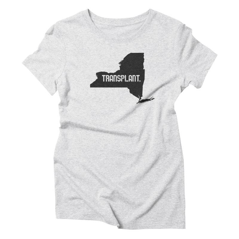 NY Transplant Women's Triblend T-Shirt by Pittie Chicks