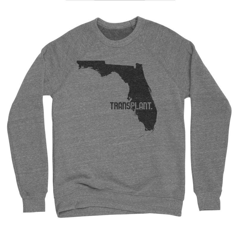 FL Transplant Men's Sponge Fleece Sweatshirt by Pittie Chicks