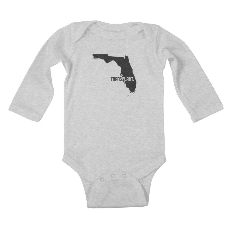 FL Transplant Kids Baby Longsleeve Bodysuit by Pittie Chicks