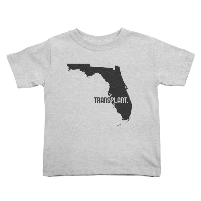 FL Transplant Kids Toddler T-Shirt by Pittie Chicks