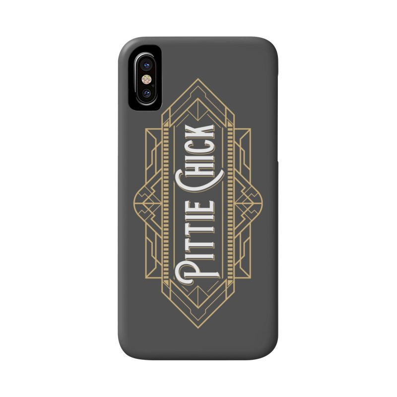 Art Deco Chick Accessories Phone Case by Pittie Chicks