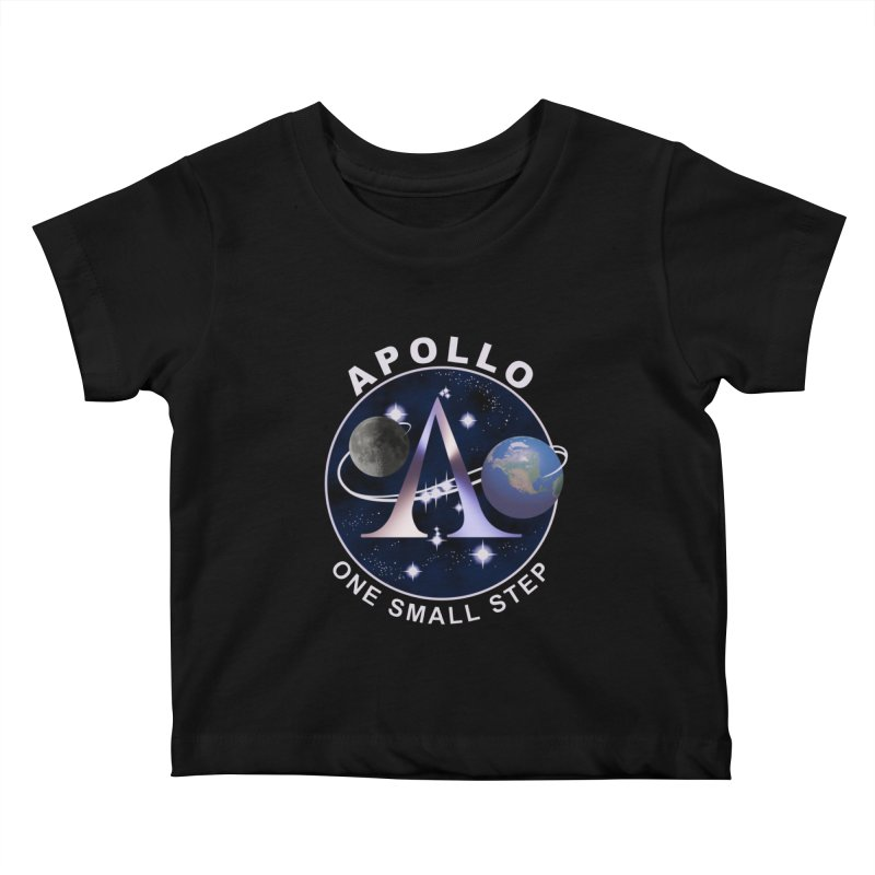 The Explorers: Apollo Kids Baby T-Shirt by PlanetOfMystery's Artist Shop