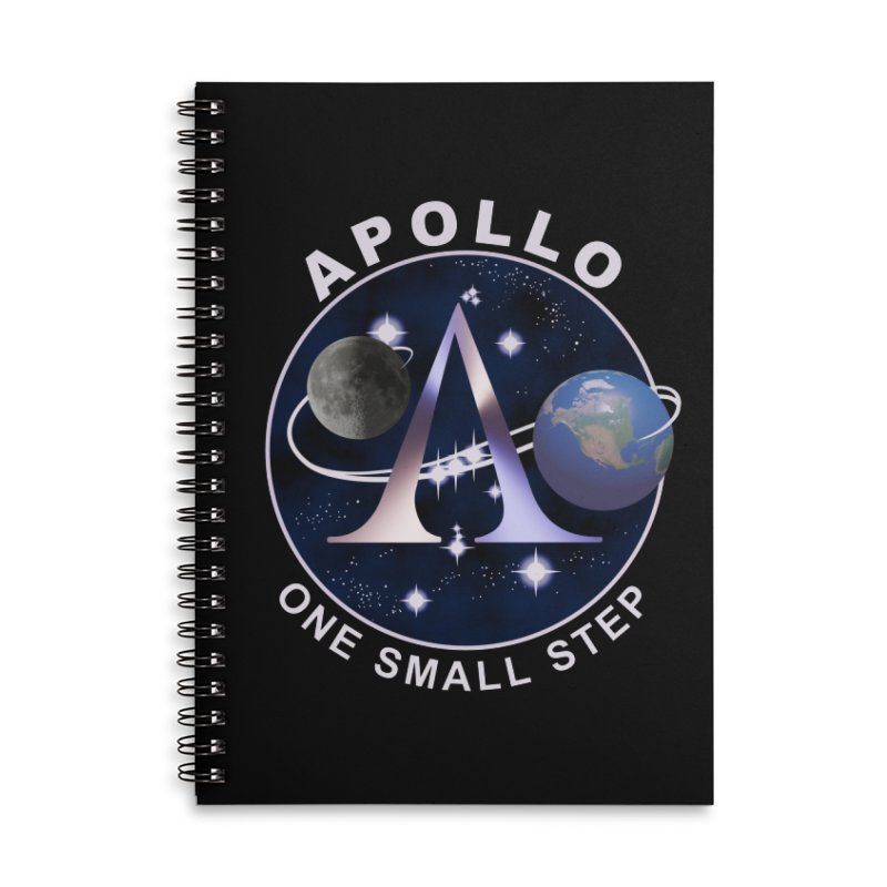 The Explorers: Apollo Accessories Notebook by PlanetOfMystery's Artist Shop