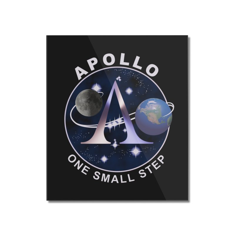The Explorers: Apollo Home Mounted Acrylic Print by PlanetOfMystery's Artist Shop