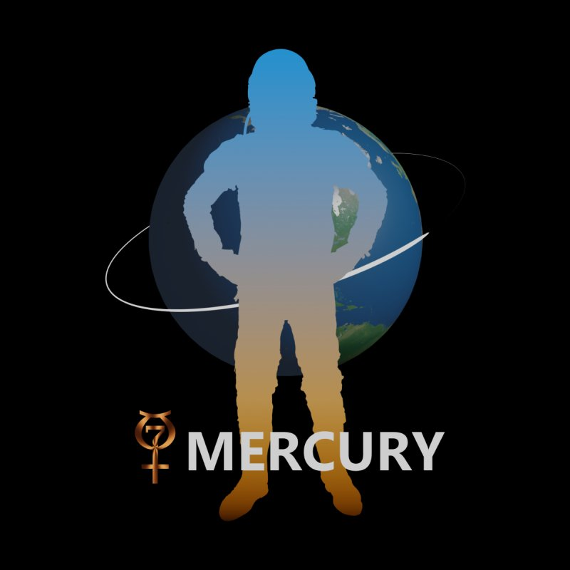 The Explorers: Mercury Men's V-Neck by PlanetOfMystery's Artist Shop