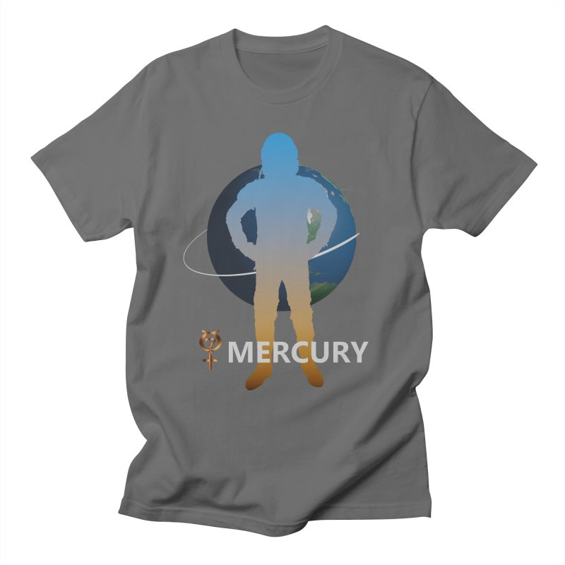 The Explorers: Mercury Men's T-Shirt by PlanetOfMystery's Artist Shop
