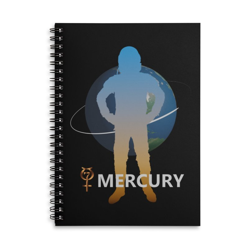 The Explorers: Mercury Accessories Notebook by PlanetOfMystery's Artist Shop
