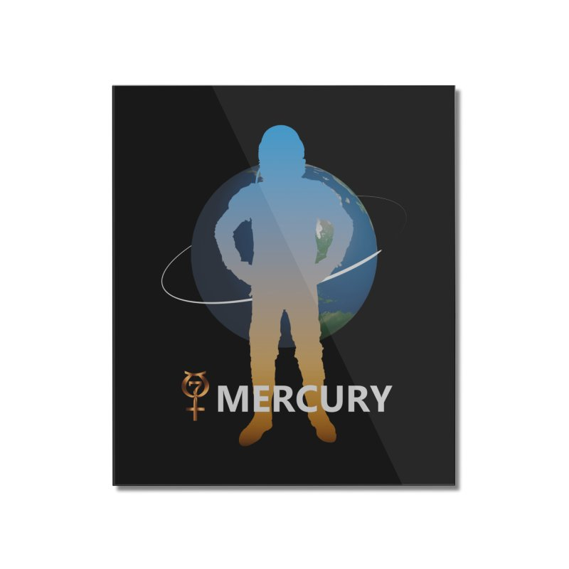 The Explorers: Mercury Home Mounted Acrylic Print by PlanetOfMystery's Artist Shop