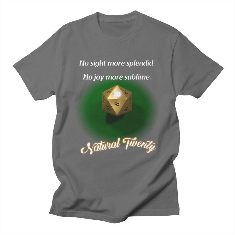 Natural Twenty Men's T-Shirt by PlanetOfMystery's Artist Shop