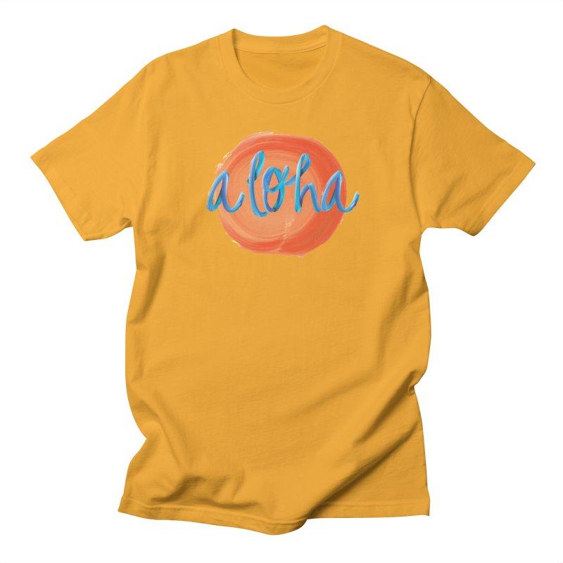 Aloha! Men's Regular T-Shirt by Pnkflpflps's Artist Shop