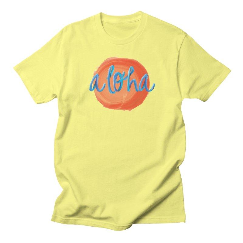 Aloha! Men's T-Shirt by Pnkflpflps's Artist Shop