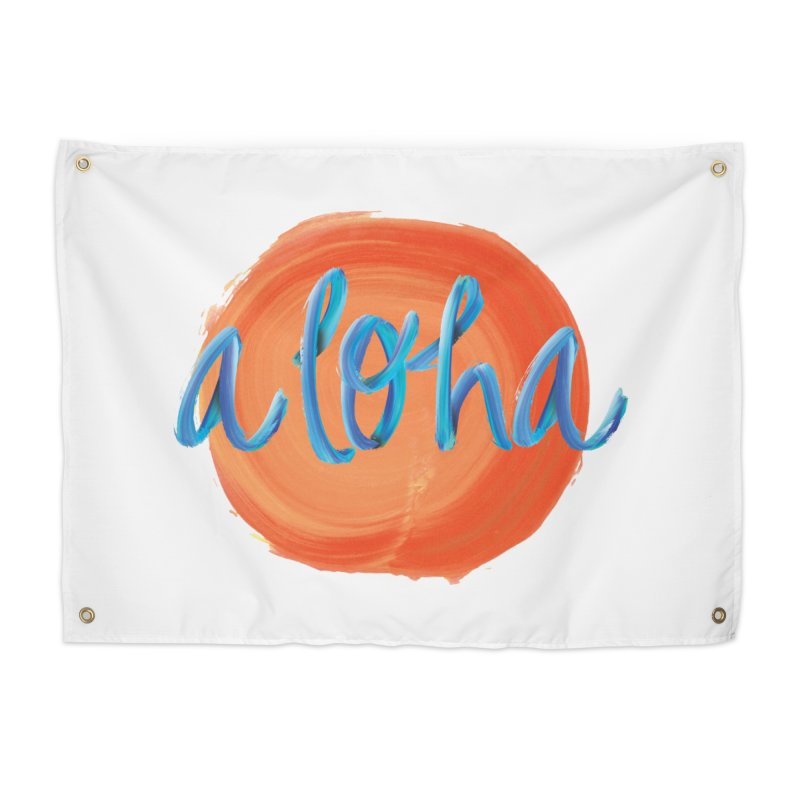 Aloha! Home Tapestry by Pnkflpflps's Artist Shop