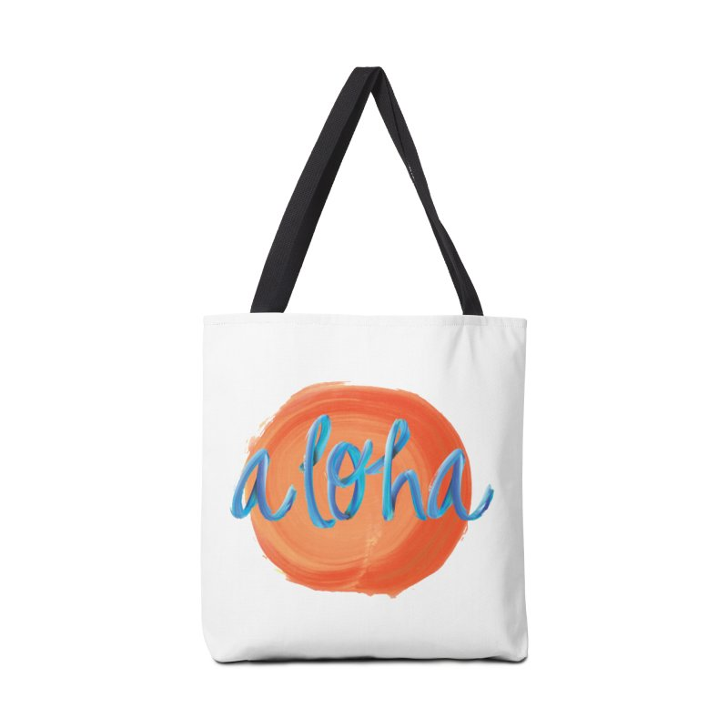 Aloha! Accessories Bag by Pnkflpflps's Artist Shop