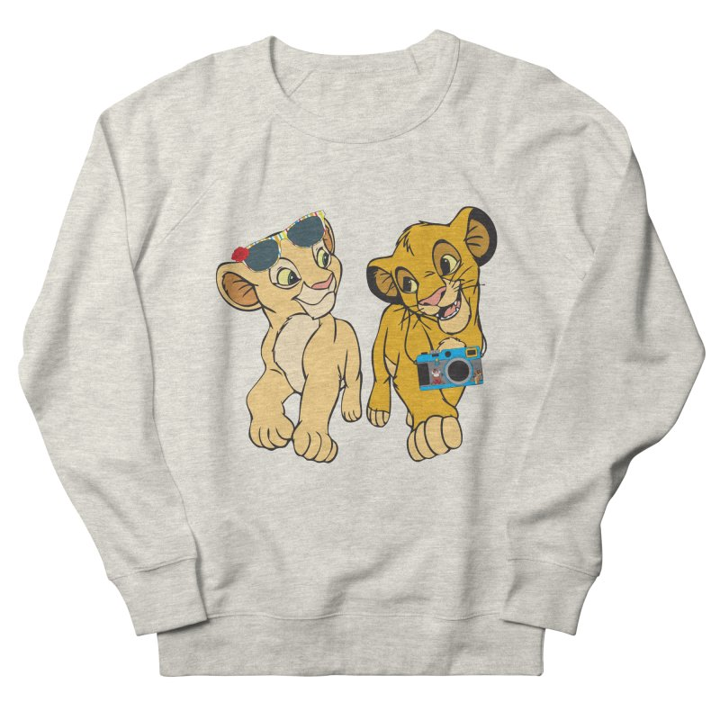 We're Not Tourist! Women's French Terry Sweatshirt by Pnkflpflps's Artist Shop