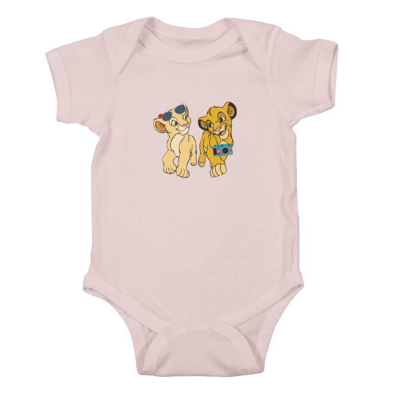 We're Not Tourist! Kids Baby Bodysuit by Pnkflpflps's Artist Shop