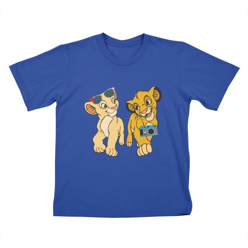 We're Not Tourist! Kids T-shirt by Pnkflpflps's Artist Shop