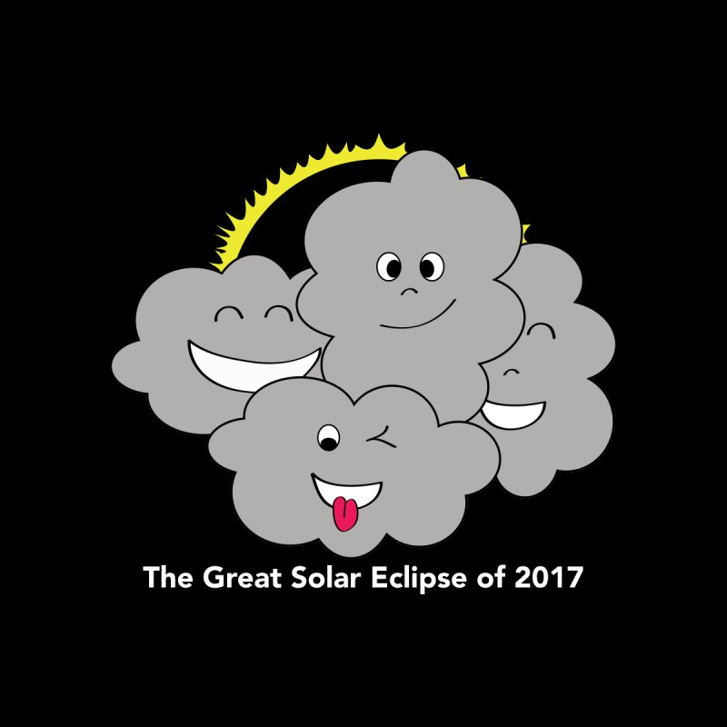 The Great Solar Eclipse of 2017 Women's Longsleeve T-Shirt by Pnkflpflps's Artist Shop