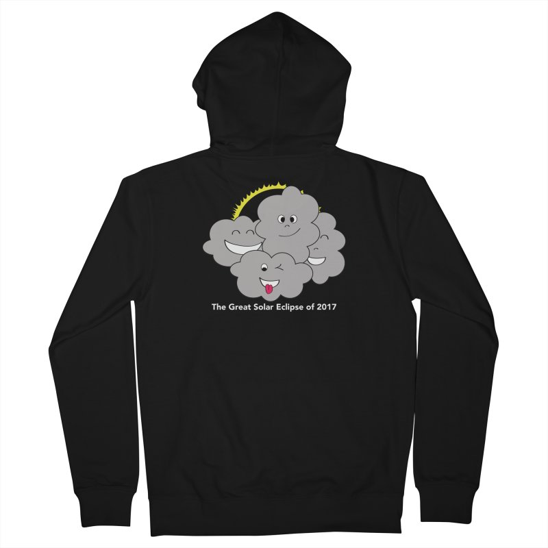 The Great Solar Eclipse of 2017 Women's French Terry Zip-Up Hoody by Pnkflpflps's Artist Shop