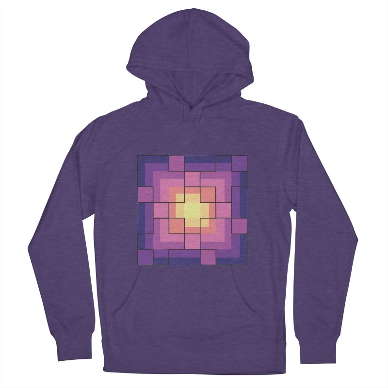 color blocks! Women's French Terry Pullover Hoody by Pnkflpflps's Artist Shop