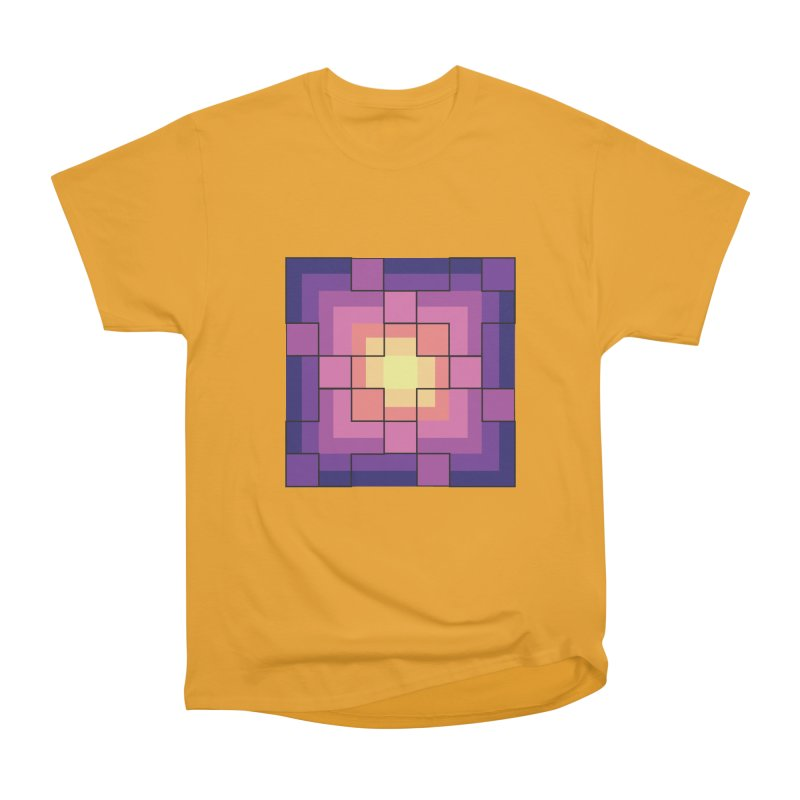 color blocks! Men's Heavyweight T-Shirt by Pnkflpflps's Artist Shop
