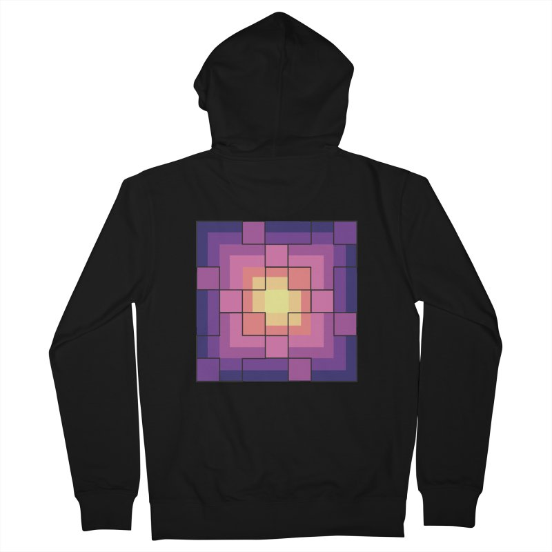 color blocks! Men's Zip-Up Hoody by Pnkflpflps's Artist Shop
