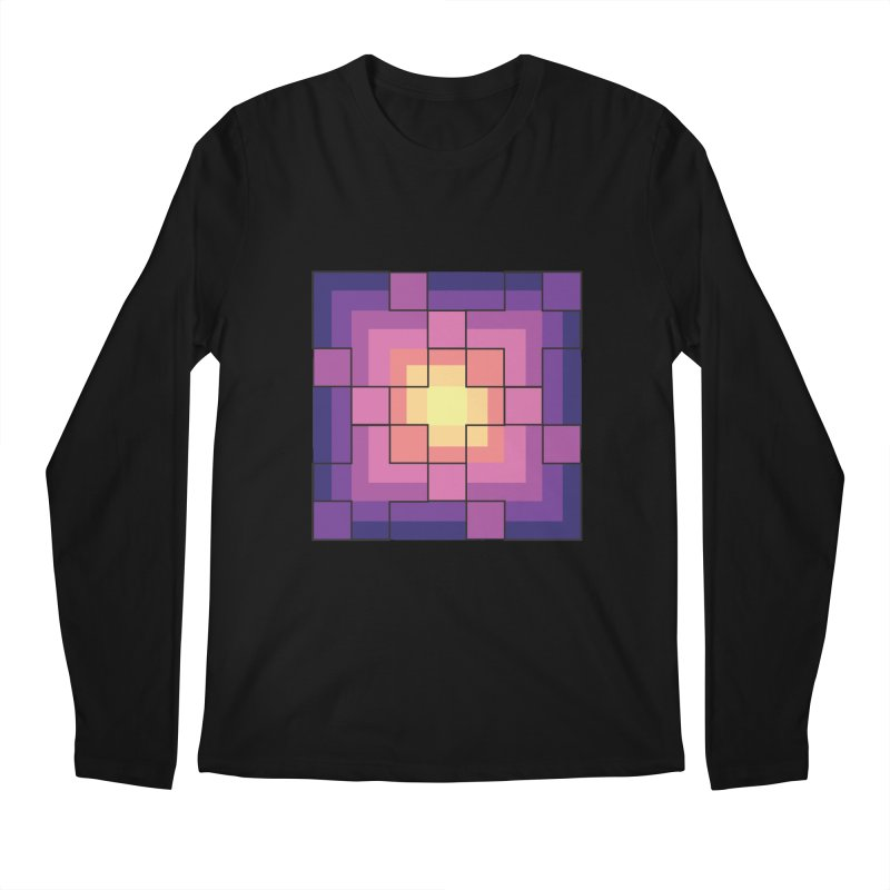 color blocks! Men's Regular Longsleeve T-Shirt by Pnkflpflps's Artist Shop