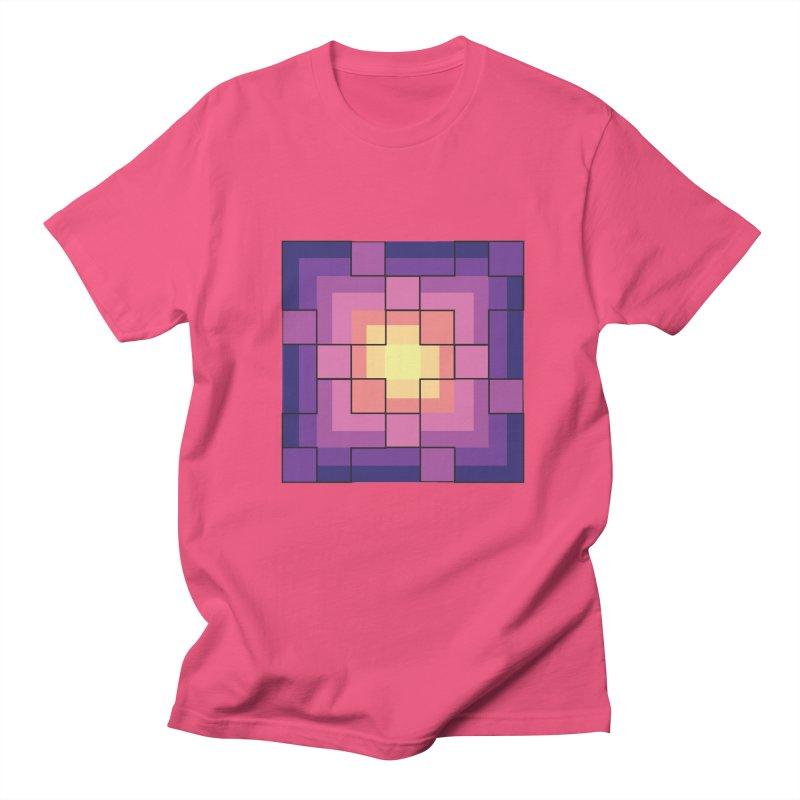 color blocks! Men's Regular T-Shirt by Pnkflpflps's Artist Shop