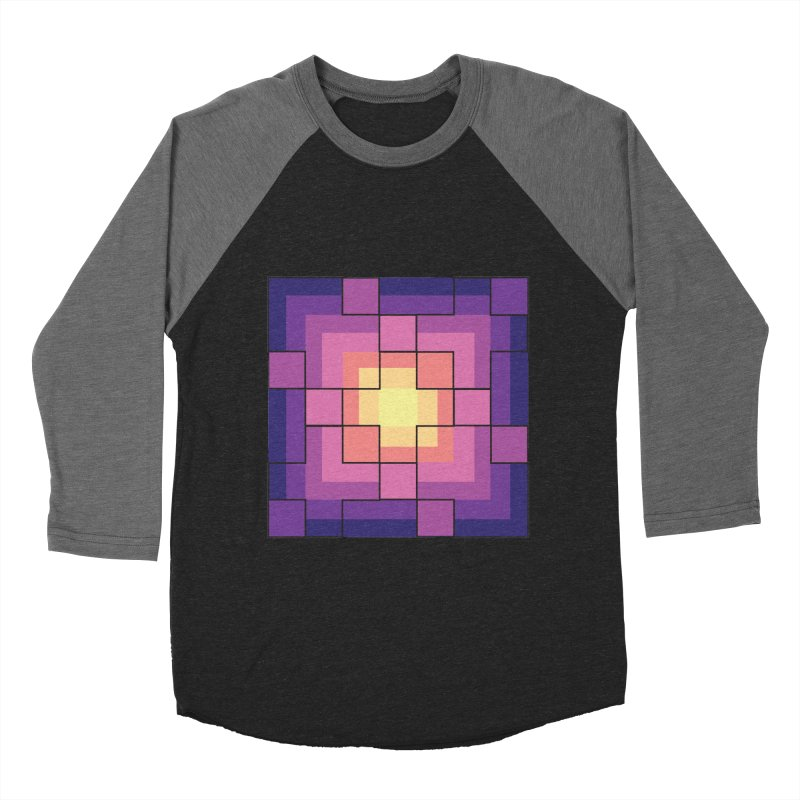 color blocks! Women's Baseball Triblend Longsleeve T-Shirt by Pnkflpflps's Artist Shop