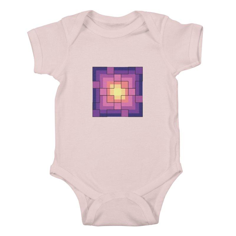 color blocks! Kids Baby Bodysuit by Pnkflpflps's Artist Shop