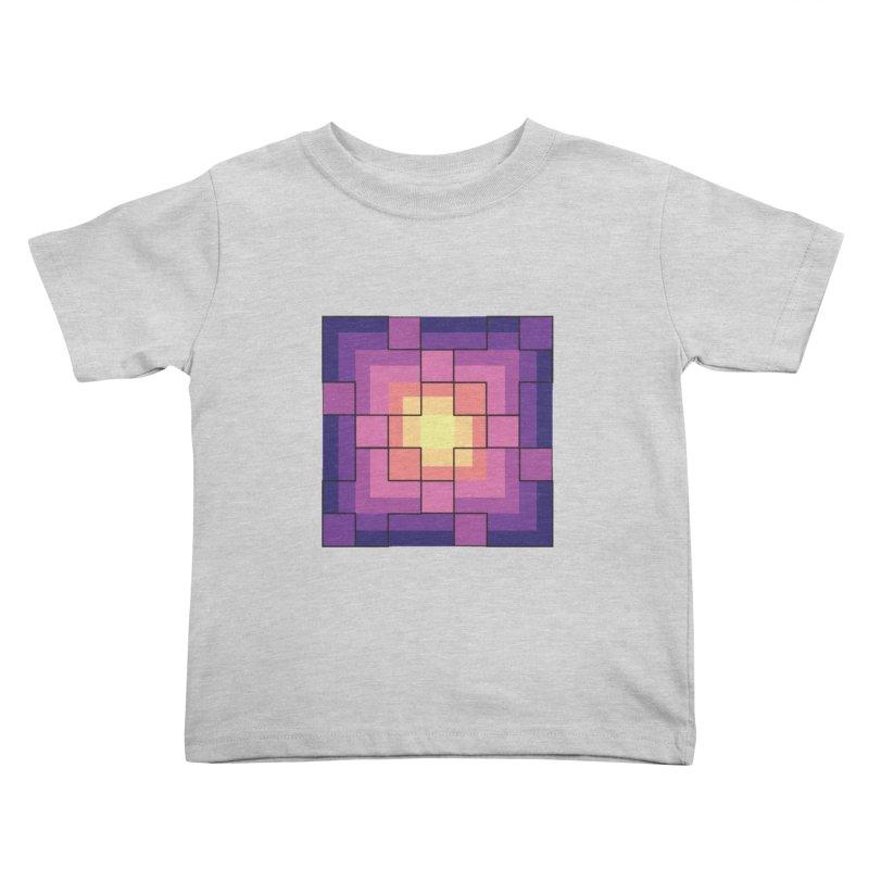 color blocks! Kids Toddler T-Shirt by Pnkflpflps's Artist Shop