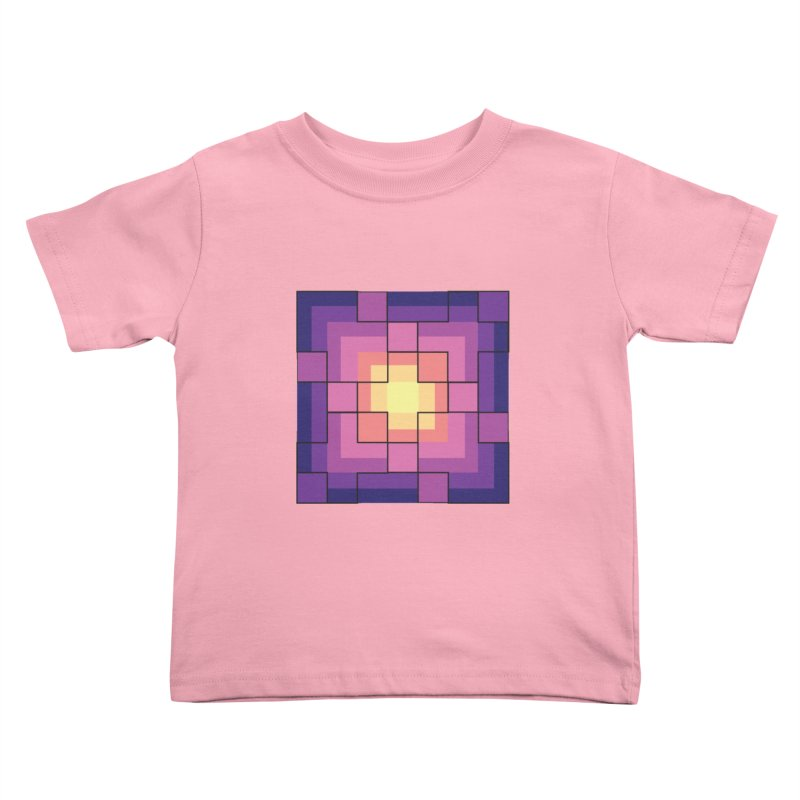 color blocks! Kids Toddler T-Shirt by Pnkflpflps's Artist Shop