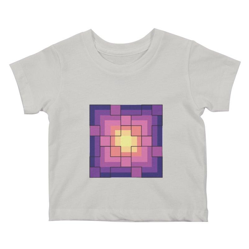 color blocks! Kids Baby T-Shirt by Pnkflpflps's Artist Shop